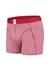 A-dam boxershort Tjeerd, rood gestreept