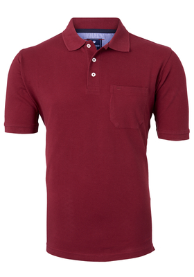 Redmond Regular Fit poloshirt, bordeaux rood
