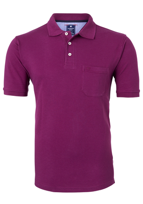 Redmond Regular Fit poloshirt, fuchsia