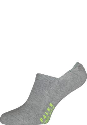 FALKE Cool Kick invisible unisex sokken, lichtgrijs (light grey)
