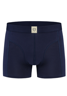A-dam boxershort Harm, stijlvol donkerblauw