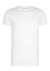 RJ Bodywear Everyday, Utrecht, extra lang T-shirt O-hals smal, wit 2-pack