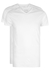 RJ Bodywear Everyday, Den Haag, extra lang T-shirt V-hals smal, wit 2-pack