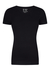 RJ Bodywear Everyday, Leeuwarden, 2-pack, T-shirt V-hals, zwart rib
