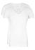 RJ Bodywear Everyday, Alkmaar, 2-pack, T-shirt diepe V-hals, wit rib