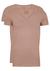 RJ Bodywear Everyday, Nijmegen, 2-pack, stretch T-shirt diepe V-hals, huidskleur