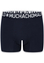 Muchachomalo Light Cotton boxershorts (3-pack), heren boxers normale lengte, blauw, rood en zwart