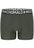 Muchachomalo Light Cotton boxershorts (4-pack), heren boxers normale lengte, blauw, groen, rood en zwart