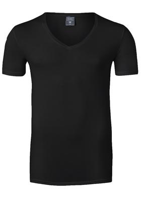 Muchachomalo T-shirt V-hals Pima Cotton, zwart