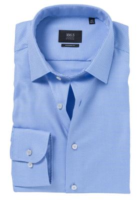 ETERNA 1863 Modern Fit overhemd, lichtblauw structuur (premium)