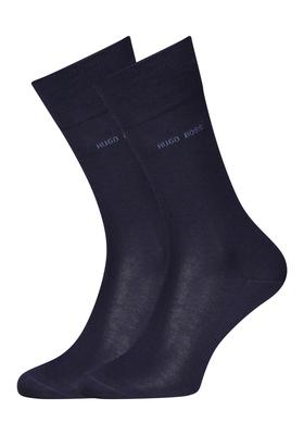 Hugo Boss, George RS uni, herensokken, donkerblauw
