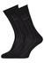 Hugo Boss, George RS stripes, herensokken, zwart gestreept