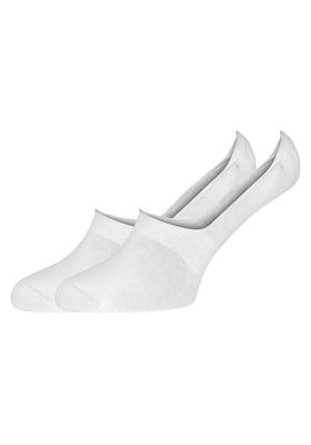 Hugo Boss, Shoeliner Stay On, herensokken, witte onzichtbare sokken