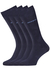 Hugo Boss, 2-pack RS uni, herensokken, donkerblauw