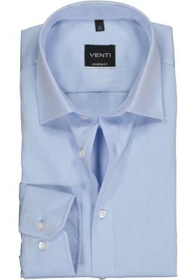 VENTI modern fit overhemd, lichtblauw