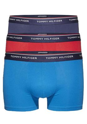 Tommy Hilfiger boxershorts (3-pack), blauw, kobaltblauw, rood