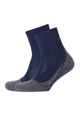 Falke TK2 Short cool heren wandelsokken, blauw