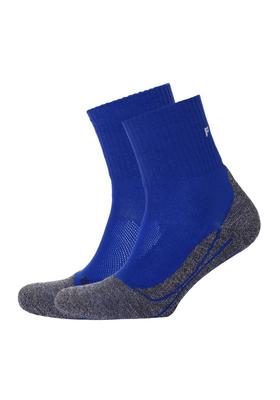 Falke TK2 Short cool heren wandelsokken, kobaltblauw