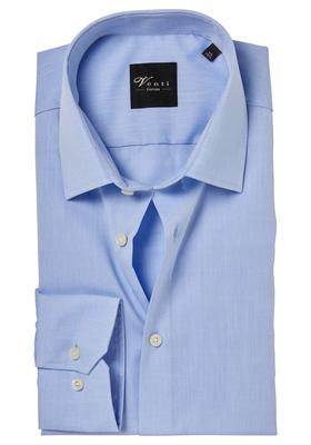 Venti Modern Fit overhemd, mouwlengte 72, licht blauw