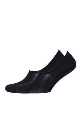 Tommy Hilfiger onzichtbare sneaker sokken (2-pack), zwart