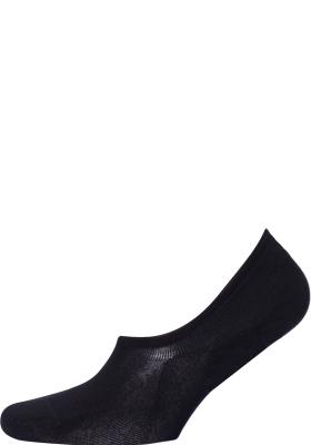 Tommy Hilfiger Footie Socks (2-pack), heren sneaker sokken katoen, onzichtbaar, zwart