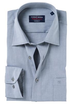 Casa Moda Modern Fit overhemd, mouwlengte 72 cm, grijs