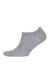 Tommy Hilfiger sneaker sokken (2-pack), grijs melange