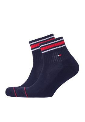 Tommy Hilfiger sneaker sportsokken (2-pack), blauw