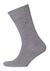 Tommy Hilfiger Duo Stripe Socks (2-pack), herensokken katoen, gestreept en uni, antraciet grijs