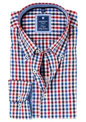 Redmond Regular Fit overhemd, geruit