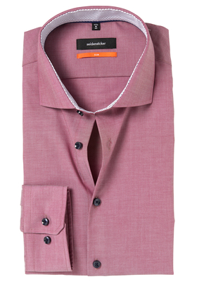 Seidensticker Slim Fit overhemd, rood (contrast)