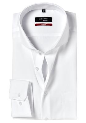 Seidensticker Modern Fit overhemd, wit