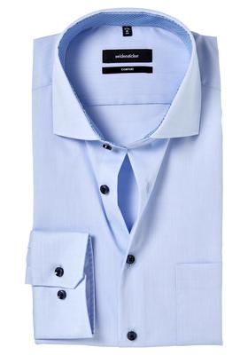 Seidensticker Comfort Fit overhemd, lichtblauw (contrast)