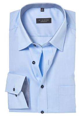 ETERNA Comfort Fit overhemd, lichtblauw (contrast)
