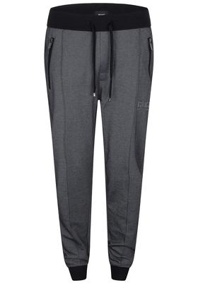 Hugo Boss heren jogging broek (dik), zwart/grijs