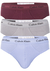 Calvin Klein Hipster Brief (3-pack), slips lila, grijs en bordeaux