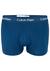 Calvin Klein Low Rise Trunks (3-pack), rood-lichtblauw-blauw