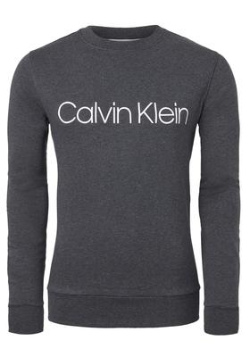 Calvin Klein Cotton Logo Sweatshirt, donker grijs