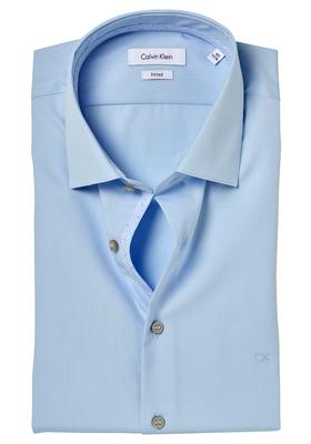 Calvin Klein Fitted overhemd (Cannes), lichtblauw (contrast)