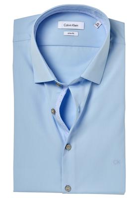 Calvin Klein Slim Fit overhemd (Bari), lichtblauw (contrast)