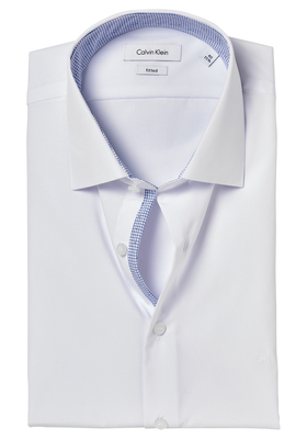 Calvin Klein Fitted overhemd (Cannes), wit (contrast)