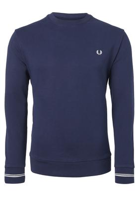 Fred Perry M2599 sweatshirt, blauw, Carbon Blue