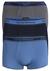 Armani Trunks (3-pack), blauw, kobalt, antraciet