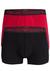 Armani Trunks (2-pack), zwart en donkerrood