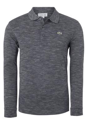 Lacoste Sport polo lange mouwen Regular Fit, rots grijs (ultra lightweight knit)