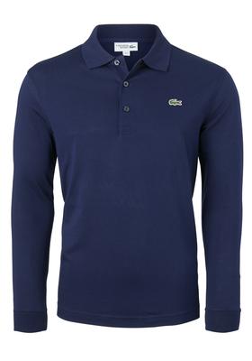 Lacoste Sport polo lange mouwen Regular Fit, donkerblauw (ultra lightweight knit)