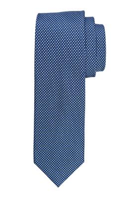 Michaelis stropdas, marine blauw motief