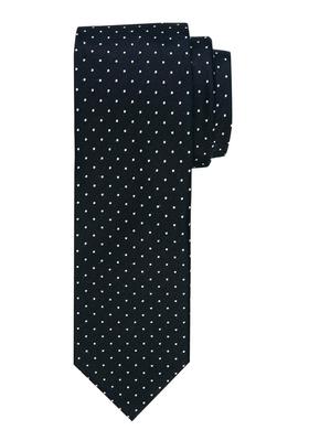 Michaelis stropdas, zwart witte stippen