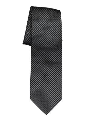 Michaelis stropdas, zwart wit motief