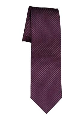 Michaelis stropdas, blauw rood motief